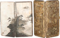 Paintings, TWO JAPANESE MIXED METAL CIGARETTE CASES, early 20th century. Marks to silver case: SILVER, 950, OKUBO. 6-1/2 inches hig... (Total: 2 Items)