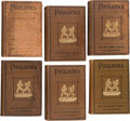 "Boxing Collectibles:Memorabilia, 1906 ""Pugilistica"" Three Volume Boxing Book Sets, Lot of Two Complete Sets...."