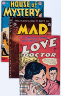 Golden Age (1938-1955):Miscellaneous, Comic Books - Assorted Golden Age Comics Group (Various Publishers, 1950s) Condition: Average GD/VG.... (Total: 16 Comic Books)