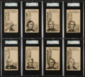 Non-Sport Cards:Sets, Circa. 1881 H602 U.S. President Trade Card High Grade Complete Set(21). ...