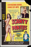 "Movie Posters:Sexploitation, Scanty Panties (William Mishkin Motion Pictures Inc., 1961). OneSheet (27"" X 41""). Sexploitation.. ..."