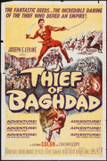 "Movie Posters:Fantasy, Thief of Baghdad (MGM, 1961). One Sheet (27"" X 41"") & Lobby Card Set of 8 (11"" X 14""). Fantasy.. ... (Total: 9 Items)"