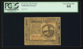 Colonial Notes:Continental Congress Issues, Continental Currency November 29, 1775 $2 PCGS Very Choice New 64.....
