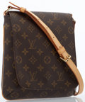 Luxury Accessories:Bags, Louis Vuitton Classic Monogram Canvas Musette Salsa Bag with BrassHardware. ...