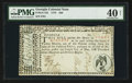 Colonial Notes:Georgia, Georgia May 4, 1778 $40 PMG Extremely Fine 40 Net.. ...