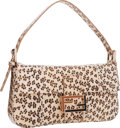 "Luxury Accessories:Bags, Fendi Beige Leopard Python Baguette Bag . Excellent to PristineCondition . 11"" Width x 6"" Height x 1.5"" Depth. ..."