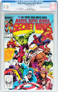Modern Age (1980-Present):Superhero, Marvel Super Heroes Secret Wars #1 Don/Maggie Thompson Collectionpedigree (Marvel, 1984) CGC NM/MT 9.8 White pages....