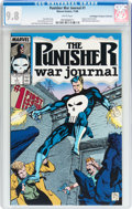Modern Age (1980-Present):Superhero, Punisher War Journal #1 Don/Maggie Thompson Collection pedigree (Marvel, 1988) CGC NM/MT 9.8 White pages....