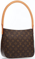 Luxury Accessories:Bags, Louis Vuitton Classic Monogram Canvas Looping MM Bag . ...