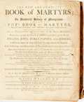 Books:Religion & Theology, Paul Wright. The New and Complete Book of Martyrs; an Universal History of Martyrdom, et al, Vol. I (incomplete). Ne...