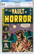 Golden Age (1938-1955):Horror, Vault of Horror #17 (EC, 1951) CGC VF 8.0 Off-white to white pages....