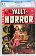 Golden Age (1938-1955):Horror, Vault of Horror #23 (EC, 1952) CGC FN/VF 7.0 Off-white to whitepages....