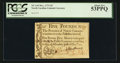 Colonial Notes:North Carolina, North Carolina December, 1771 £5 PCGS About New 53PPQ.. ...
