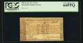 Colonial Notes:Maryland, Maryland April 10, 1774 $1 PCGS Very Choice New 64PPQ.. ...