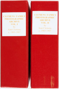 [Jean Clemens (Mark Twain's Daughter)]. Robert Slotta. SIGNED/LIMITED. A Glimpse into Jean's World: Clemens Fam