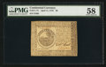 Colonial Notes:Continental Congress Issues, Continental Currency April 11, 1778 $6 PMG Choice About Unc 58.....