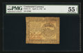 Colonial Notes:Continental Congress Issues, Continental Currency April 11, 1778 $4 PMG About Uncirculated 55Net.. ...