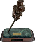 """Golf Collectibles:Miscellaneous, 1998 """"Legendary Hands Of Sam Snead"""" Bronze Sculpture From The Sam Snead Collection...."""