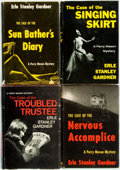 Books:Mystery & Detective Fiction, Erle Stanley Gardner. Group of Four First Edition, First PrintingPerry Mason Books Published by Morrow. Titles ... (Total: 4Items)