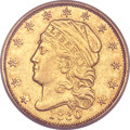Early Quarter Eagles, 1830 $2 1/2 -- Scratched -- ANACS. XF45 Details. BD-1, R.4....