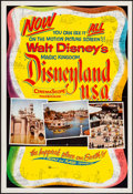 "Movie Posters:Documentary, Disneyland, U.S.A. (Buena Vista, 1957). One Sheet (27"" X 41""). Documentary.. ..."