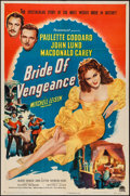 "Movie Posters:Adventure, Bride of Vengeance (Paramount, 1949). One Sheet (27"" X 41"").Adventure.. ..."