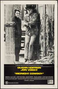 """Midnight Cowboy (United Artists, 1969). One Sheet (27"""" X 41"""") X-Rated Style. Academy Award Winners"""
