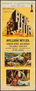 "Movie Posters:Academy Award Winners, Ben-Hur (MGM, 1960). Insert (14"" X 36""). Academy Award Style.. ..."