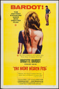 "Movie Posters:Foreign, The Night Heaven Fell (Kingsley International, 1958). One Sheet (27"" X 41""). Foreign.. ..."