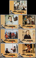 "Movie Posters:Academy Award Winners, One Flew Over the Cuckoo's Nest (United Artists, 1975). Lobby Cards(7) (11"" X 14""). Academy Award Winners.. ... (Total: 7 Items)"