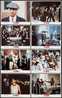 """Once Upon a Time in America (Warner Brothers, 1984). Lobby Card Set of 8 (11"""" X 14""""). Crime. ... (Total: 8 Ite..."""