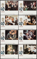 "Movie Posters:Crime, The Sting (Universal, 1973). Lobby Card Set of 8 (11"" X 14"").Crime.. ... (Total: 8 Items)"