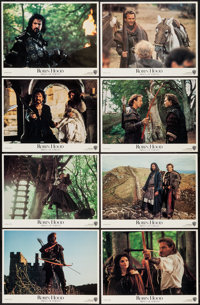 """Robin Hood: Prince of Thieves & Other Lot (Warner Brothers, 1991). Lobby Card Sets of 8 (2) (11"""" X 14""""). A..."""