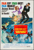 "Movie Posters:James Bond, On Her Majesty's Secret Service (United Artists, 1970). One Sheet (27"" X 41"") Style B. James Bond.. ..."