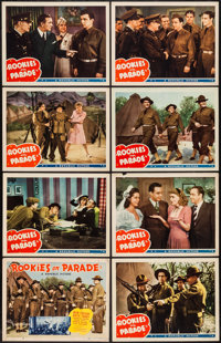 """Rookies on Parade (Republic, 1941). Lobby Card Set of 8 (11"""" X 14""""). Musical. ... (Total: 8 Items)"""