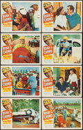 """Movie Posters:Sports, Roar of the Crowd (Allied Artists, 1953). Lobby Card Set of 8 (11"""" X 14""""). Sports.. ... (Total: 8 Items)"""