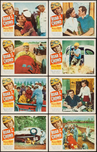"""Roar of the Crowd (Allied Artists, 1953). Lobby Card Set of 8 (11"""" X 14""""). Sports. ... (Total: 8 Items)"""