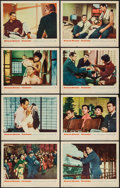 "Movie Posters:Romance, Sayonara (Warner Brothers, 1957). Lobby Card Set of 8 (11"" X 14""). Romance.. ... (Total: 8 Items)"