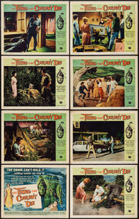 """The Thing That Couldn't Die (Universal International, 1958). Lobby Card Set of 8 (11"""" X 14""""). Horror. ... (Tot..."""