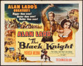 "Movie Posters:Adventure, The Black Knight (Columbia, 1954). Half Sheet (22"" X 28"") Style B.Adventure.. ..."