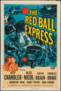 "Movie Posters:War, Red Ball Express (Universal International, 1952). One Sheet (27"" X41""). War.. ..."