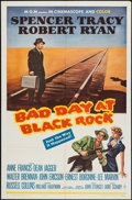 "Movie Posters:Thriller, Bad Day at Black Rock (MGM, R-1962). One Sheet (27"" X 41""). Thriller.. ..."