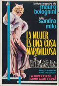 """Movie Posters:Foreign, Woman is a Wonderful Thing (Cineriz, 1964). Argentinean Poster (29"""" X 43""""). Foreign.. ..."""