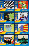 """Movie Posters:Animation, Yellow Submarine (United Artists, R-1999). Lobby Card Set of 8 (11""""X 14""""). Animation.. ... (Total: 8 Items)"""