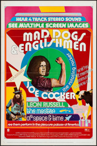 "Mad Dogs & Englishmen (MGM, 1971). One Sheet (27"" X 41""). Rock and Roll"