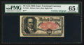 Fractional Currency:Fifth Issue, Fr. 1381 50¢ Fifth Issue Courtesy Autograph PMG Gem Uncirculated 65EPQ.. ...