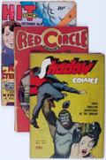 Golden Age (1938-1955):Superhero, Golden Age Superhero Group (Various Publishers, 1940s-50s) Condition: Average GD.... (Total: 9 Comic Books)