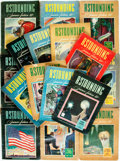 Books:Pulps, [Pulps]. Sixteen Issues of Astounding Science Fiction. 1942,1943. Publisher's original printed wrappers. Tattered e... (Total:16 Items)