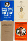 Books:Biography & Memoir, [Letters in Literature]. Group of Four Books of Letters of Various Famous Literaries. Includes Margaret Mitchell, Maurice He... (Total: 4 Items)