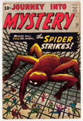 Silver Age (1956-1969):Mystery, Journey Into Mystery #73 (Marvel, 1961) Condition: VG....